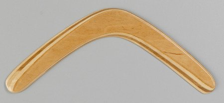 Banan Colorless returning wooden boomerang
