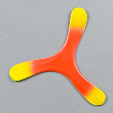Trójpłat Fluoro Orange returning boomerang